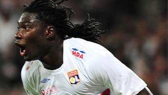 Bafetimbi Gomis sicherte Lyon einen Punkt