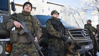 Der Einsatz der Armee verlief ohne sicherheitsrelevante Zwischenfälle.