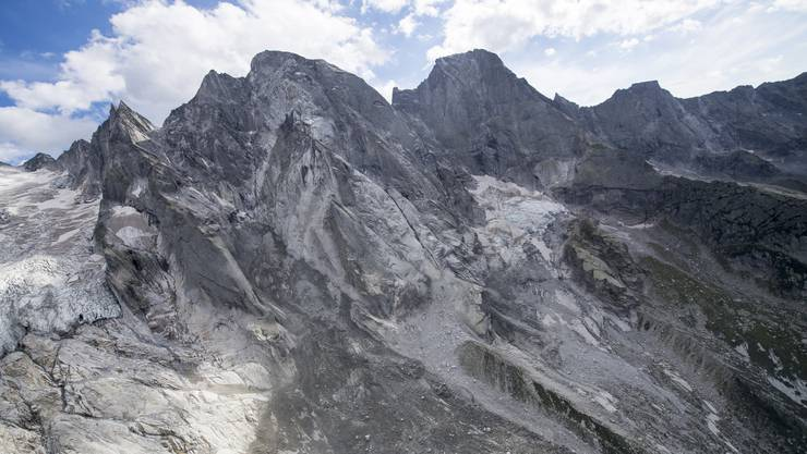 Laut Experten ist es nur eine Frage der Zeit, wann sich die Katastrophe am Piz Cengalo (Bild) in anderen Gegenden im Alpenraum wiederholt.