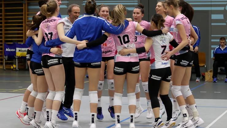 Erst Liga, dann Pokal. Die Volleyballerinnen von Sm'Aesch  haben am Wochenende gleich zwei schwere Aufgaben vor sich.