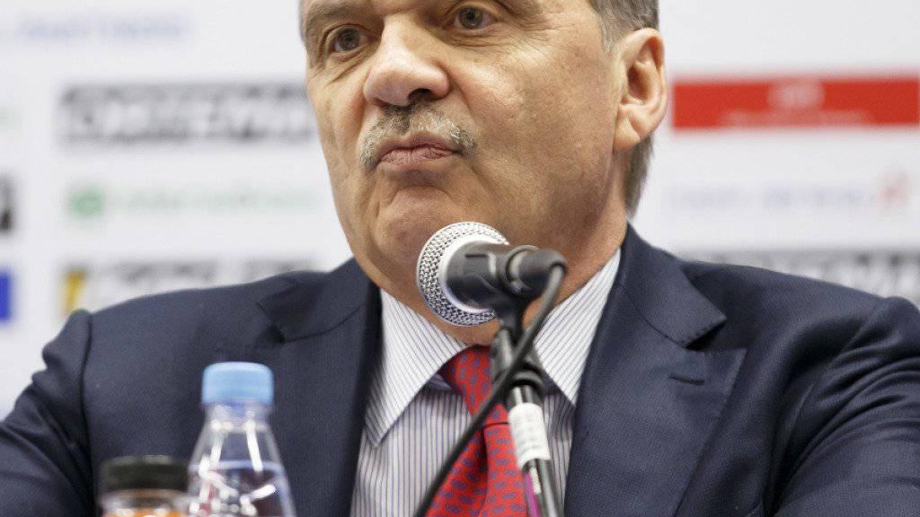 IIHF-Präsident René Fasel setzt sich seit Monaten für eine Teilnahme der NHL-Profis an den Olympischen Winterspielen 2018 ein