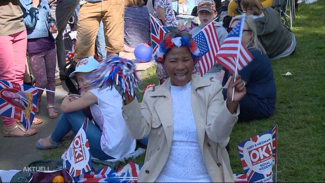 Royal Wedding: England ist im Ausnahmezustand