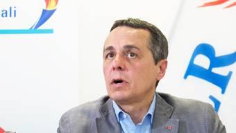 Die Tessiner FDP stellt einzig Ignazio Cassis als Kandidat vor und setzt damit alles auf eine Karte.