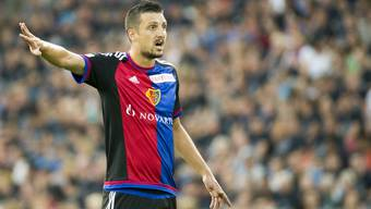 Zdravko Kuzmanovic im Dress des FC Basel.