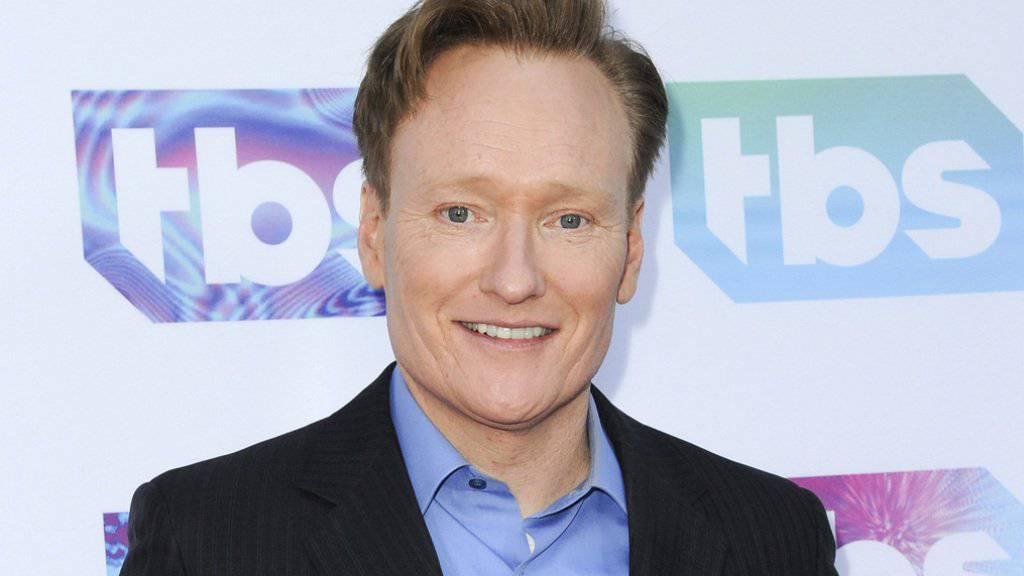 Wie viele seiner Kollegen lässt sich der amerikanische Late-Night-Talker Conan O'Brien von dem Trump-Sieg nicht entmutigen. (Archivbild)