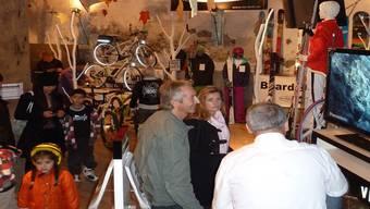 Die letzte «Salzhus Usstellig» fand vom 4. bis 6. November 2011 mit 18 Betrieben aus Brugg und Umgebung statt. Dieses Jahr fällt die Gewerbeausstellung wegen einer Terminkollision ins Wasser. ARCHIV/ZVG