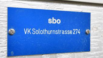 sbo-Verteilkasten an der Solothurnerstrasse in Olten