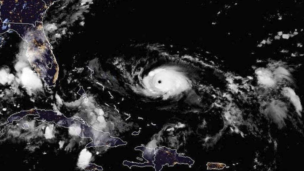 Hurrikan «Dorian» trifft Bahamas schwer +++ Teile Floridas evakuiert +++ Trump spricht