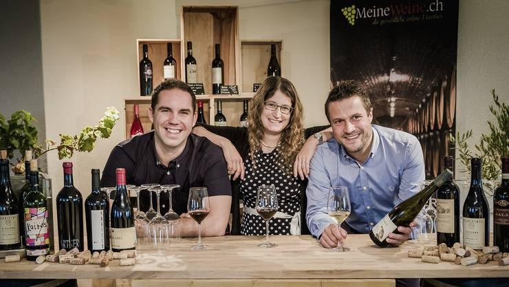 Das Freiämter Startup «MeineWeine.ch» ist stolz, seine Kundschaft bald im gediegenen neuen Showroom zu begrüssen. Das dreiköpfige Team des jungen Unternehmens besteht aus ...