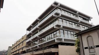 Eine von vielen Neubauten mit Mietwohnungen: Das Postareal-Gebäude in Baden.
