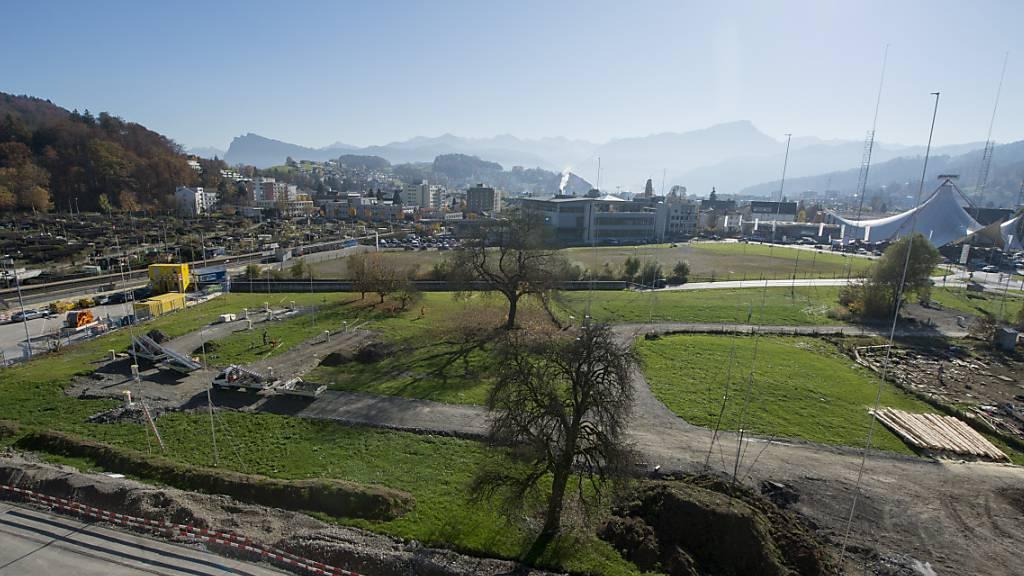 Auf dem Areal soll die Pilatus-Arena entstehen. (Archivbild)