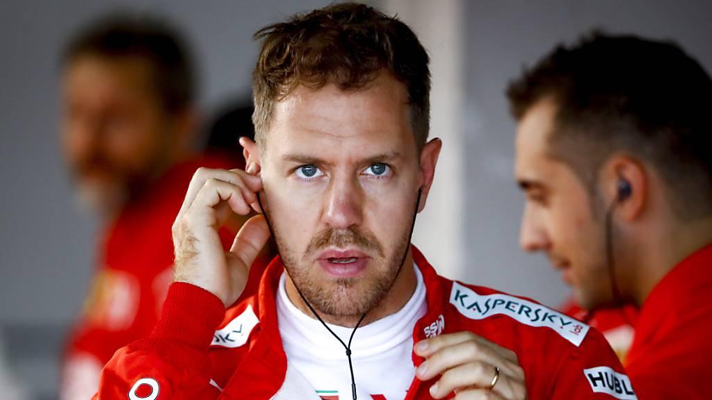 Sebastian Vettel sicherte sich in Suzuka zum fünften Mal den besten Startplatz
