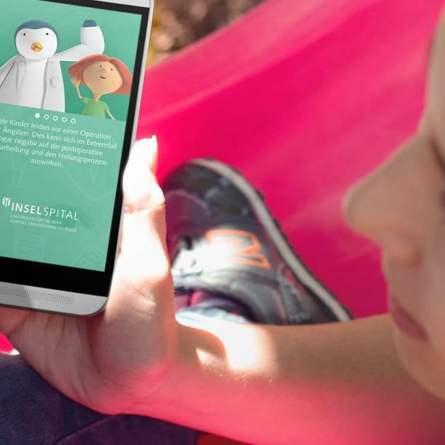 Diese App nimmt Kindern die Angst vor einer Operation