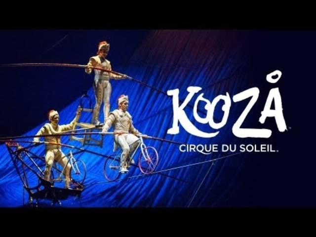 """Der Trailer zur Show """"Kooza"""" von Cirque du Soleil."""