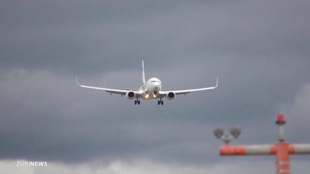 Sturm Niklas sorgte für Durcheinander am Flughafen Zürich