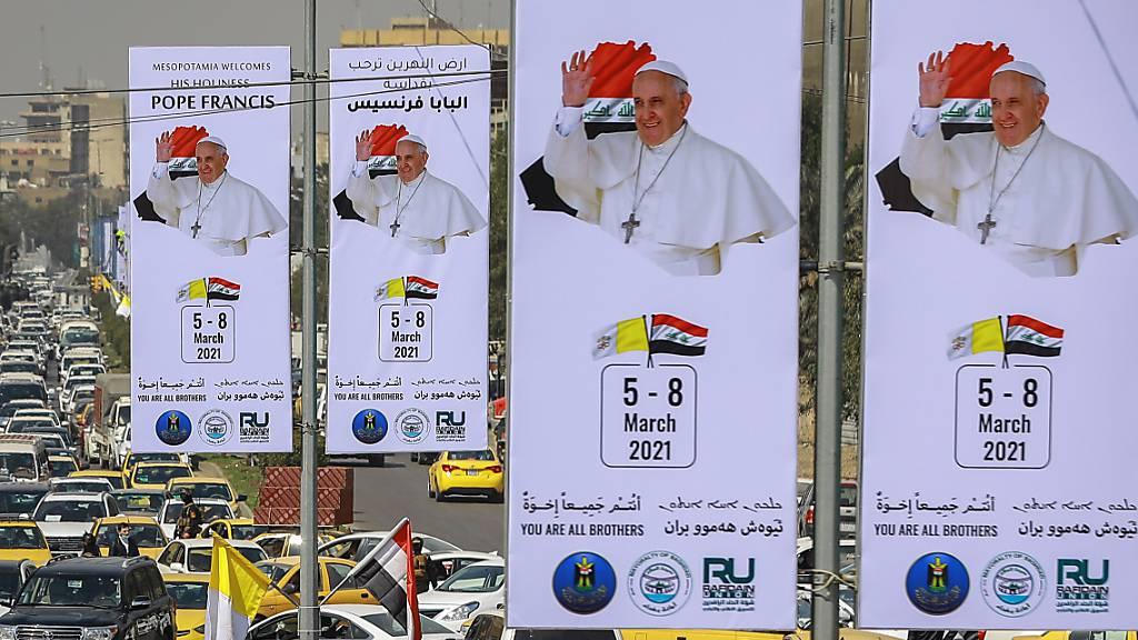 Papst hält trotz neuer Gewalt im Irak an seiner Reise fest