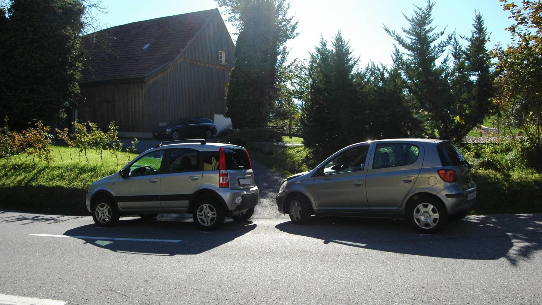 Beim Unfall entstand Sachschaden.