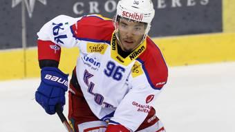 Verteidiger Edson Harlacher erzielte in Langnau seinen ersten NLA-Treffer. Sein 3:2 bedeutete die Entscheidung