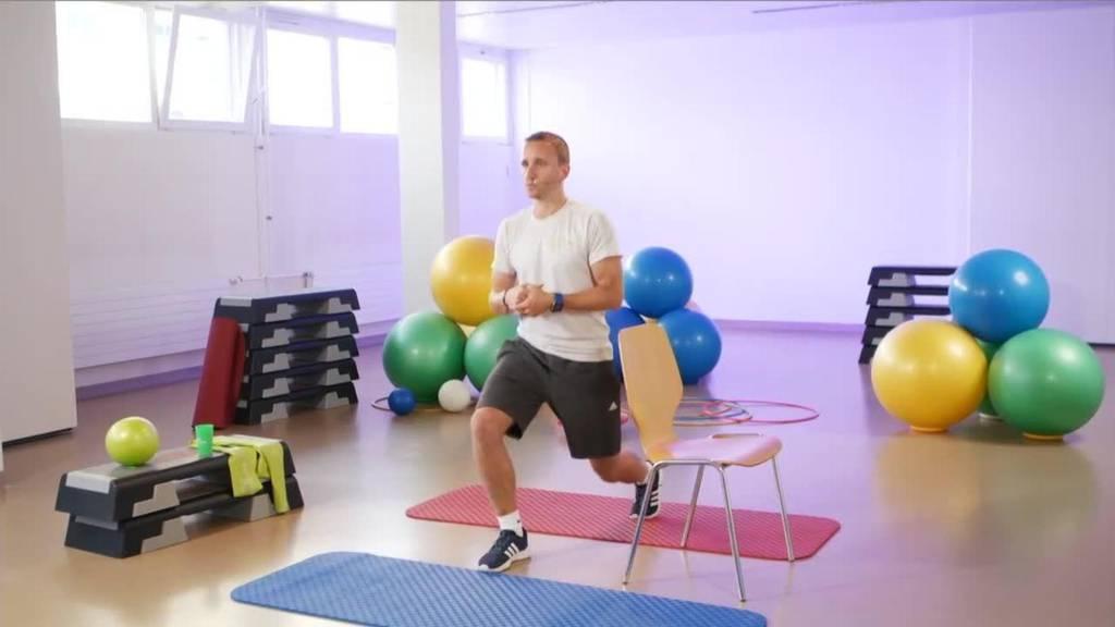 «Gymnastik im Wohnzimmer» vom 14. September 2021