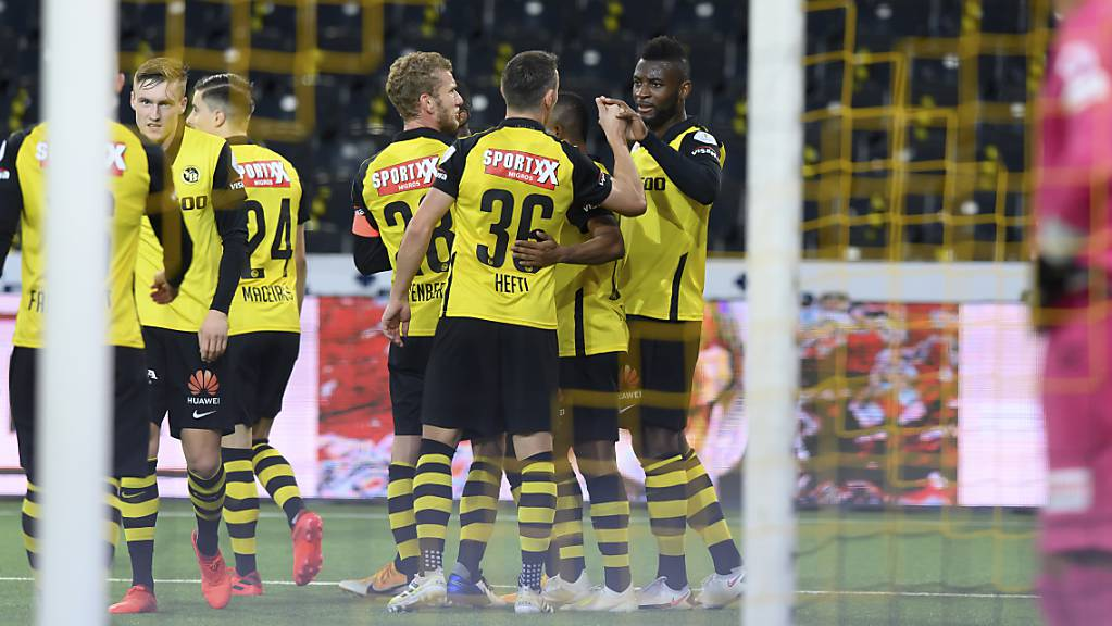 Die Young Boys lassen sich gegen Luzern nicht aus der Ruhe bringen.