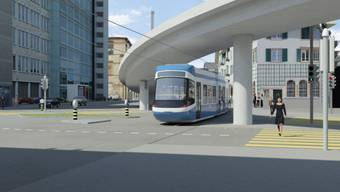 Stadtprojekt ZH: Tramverbindung Hardbrücke