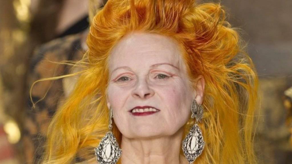 Die Modeschöpferin Vivienne Westwood wird heute 75. (Archivbild)