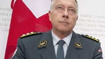 Armee-Chef Blattmann: «Die Armee ist wie eine Versicherung.» (Archiv)