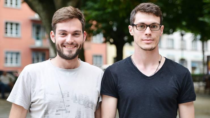 Basil Zemp (28) und Nicola Leiseder (27) lassen den «Abschleicher»-Vorwurf nicht auf sich sitzen.