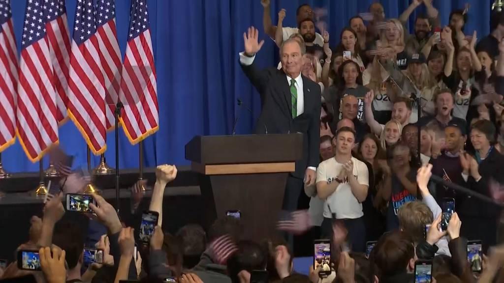 Bloomberg steigt aus Rennen um US- Präsidentschaftskandidatur aus