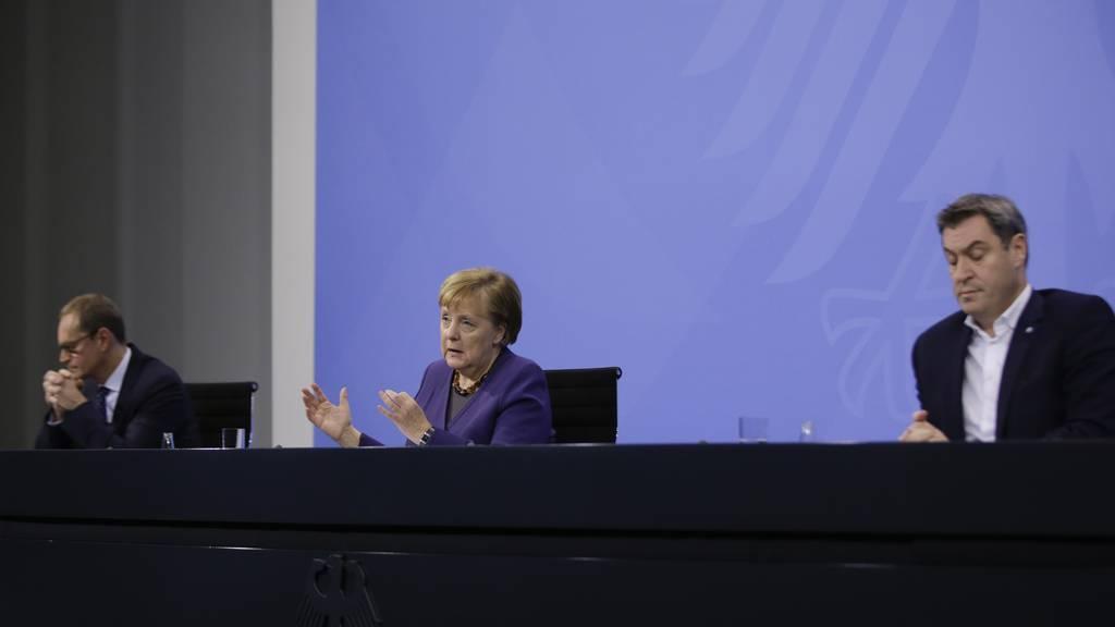 Deutschland verlängert den Teil-Lockdown
