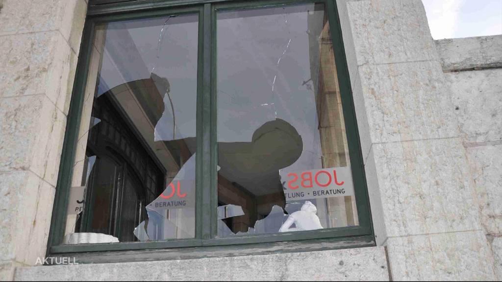 Randalierer vor Gericht: Ein 44-Jähriger hinterliess in Olten eine Spur der Verwüstung