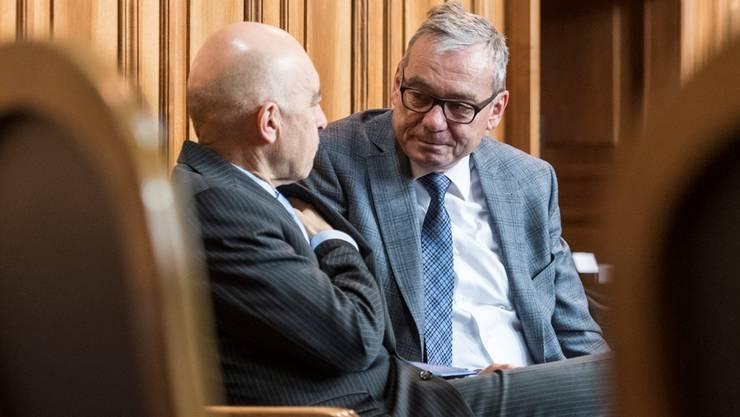 Der Wahlkampf wird kein Spaziergang: Die Ständeräte Daniel Jositsch (SP) und Ruedi Noser (FDP) haben starke Konkurrenz.