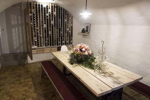 Weinkeller um UG. Die Cantina Fiori an der Weiten Gasse wurde umgebaut.
