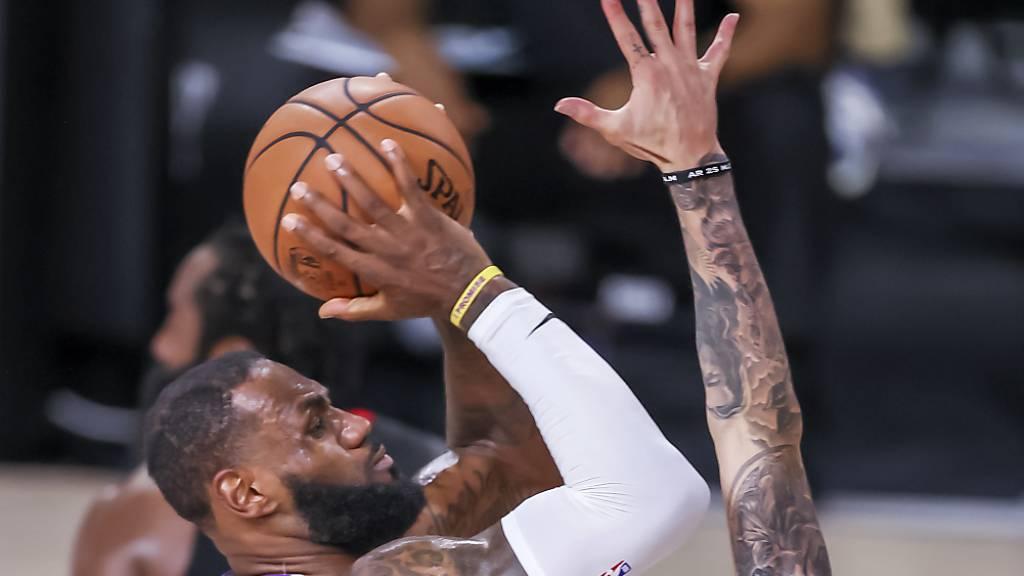LeBron James trug einmal mehr entscheidende zu einem Sieg der Los Angeles Lakers bei
