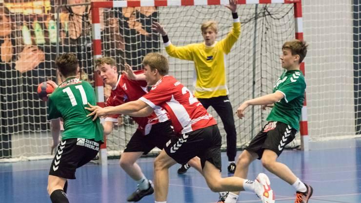 Die U15-Junioren der HSG Aargau Ost spielen im Mai um den Meistertitel.