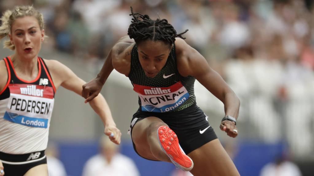Wegducken nicht mehr möglich: Brianna McNeal muss sich erneut wegen Doping-Vorwürfen verantworten
