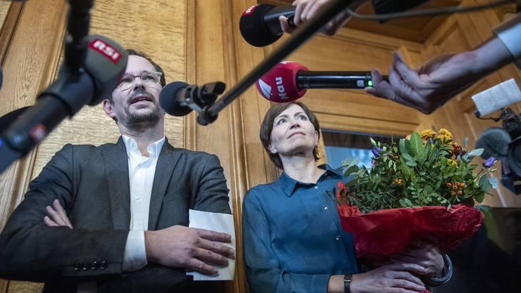Point de presse vom Freitag 22.November 2019. Die Bundesratswahl findet am 11.Dezember 2019 statt.