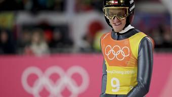 Gregor Schlierenzauer bei einem seiner erfolglosen Auftritte an den Winterspielen 2018 in Pyeongchang