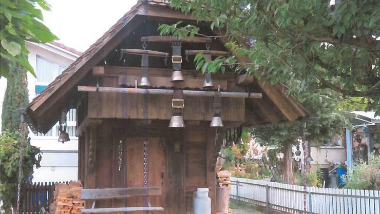 Von diesem alten Speicherhaus wurden wurden acht Kuhglocken gestohlen. Um sachdienliche Hinweise wird gebeten.