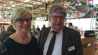 «Die AMA ist kein Selbstläufer»: Messeleiterin Suzanne Galliker und ihr Chef Willi Gyger freuen sich, dass die Ausstellungsflächen wieder total ausgebucht sind.