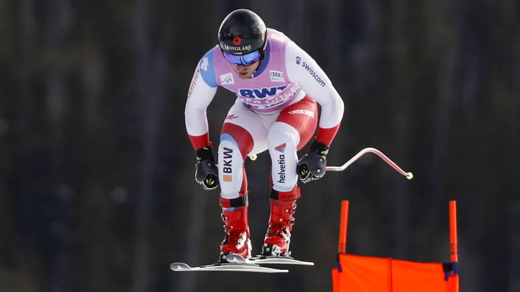 Mauro Caviezel im ersten Training bestklassierter Schweizer