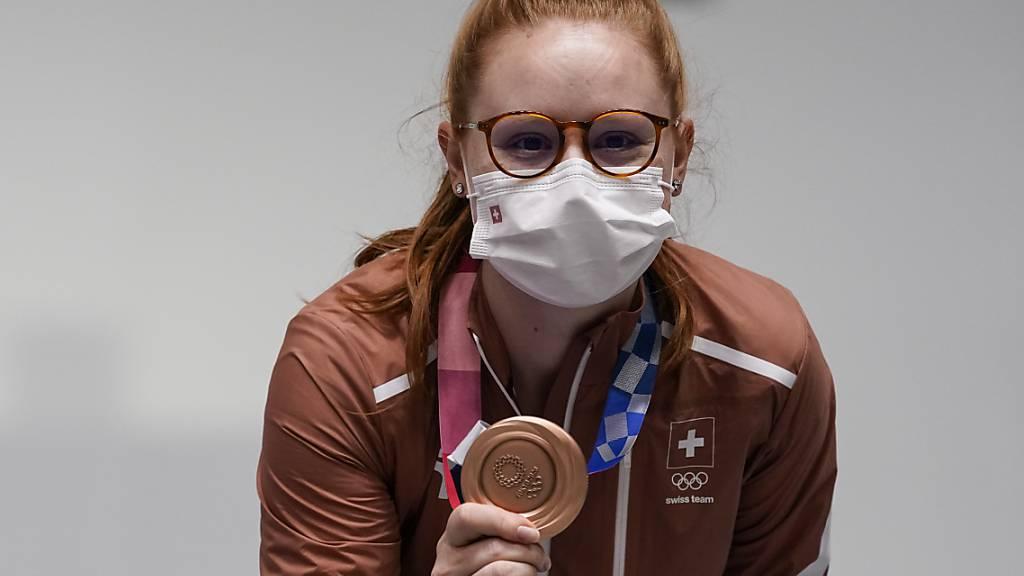 Nina Christen und Olympia-Bronze, das passt gut zusammen