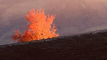 Feuer im Dach????