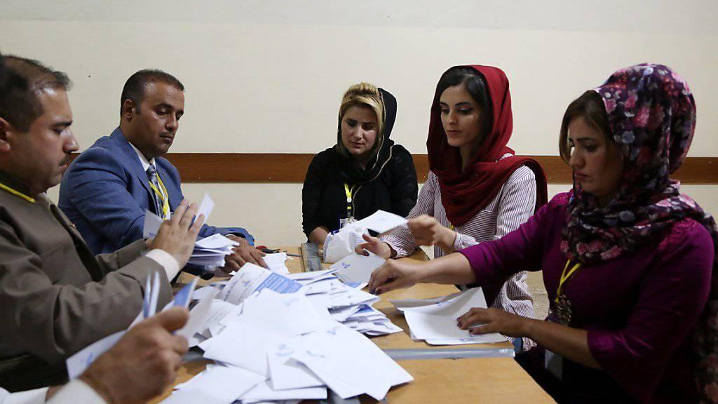 Noch werden im Irak die Stimmen ausgezählt - doch das Ergebnis dürfte klar sein: Ja zur Unabhängigkeit.