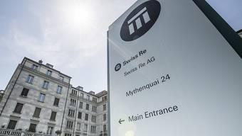 Der Swiss-Re-Standort in Zürich. (Archiv)