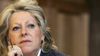 Die frühere Waadtländer Ständerätin und FDP-Schweiz-Präsidentin Christiane Langenberger ist tot. Das Bild zeigt sie während einer Debatte im Ständrat. (Archivbild)