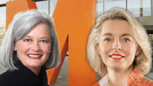 Doris Aebi, (l.) Headhunterin und Migros-Verwaltungsrätin, oder Ursula Nold, Präsidiert die Migros-Delegiertenversammlung?
