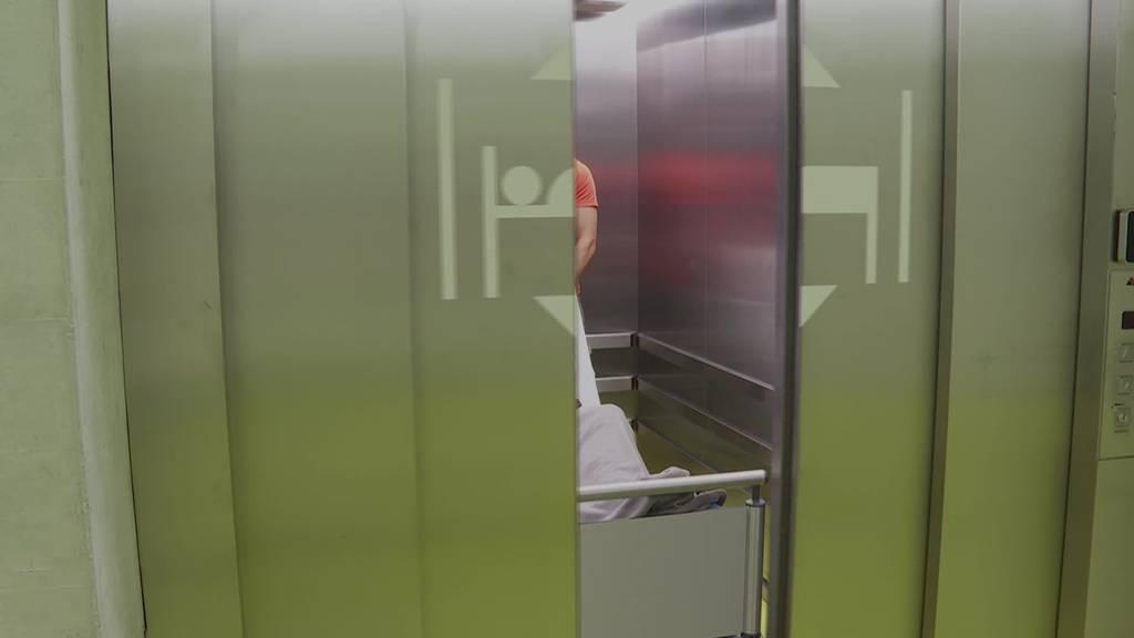 Grosser Zügeltag: Patienten beziehen Neubau des Spital Grabs