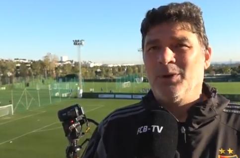 Mauro Vivarelli ist beim FC Basel für Videoaufnahmen zuständig, die zur Taktikschulung dienen.