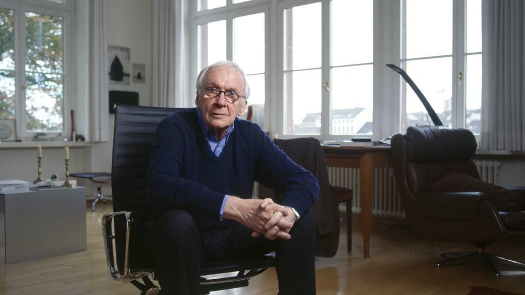 Der Schweizer Theaterregisseur Werner Düggelin ist mit 90 Jahren gestorben. Seine letzte Inszenierung war Georg Büchners «Lenz» am Schauspielhaus Zürich im September 2018. (Archivbild)